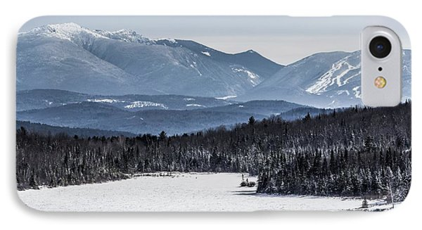 Winter Mountains IPhone Case by Tim Kirchoff