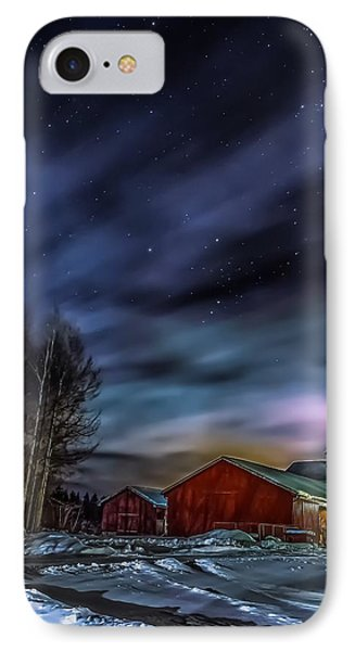 IPhone Case featuring the photograph Winter Night by Rose-Maries Picturtes