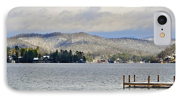 Winter On The Lake Phone Case by Susan Leggett