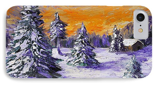 Winter Outlook Phone Case by Anastasiya Malakhova