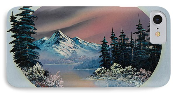 Winter Tranquility IPhone Case by C Steele
