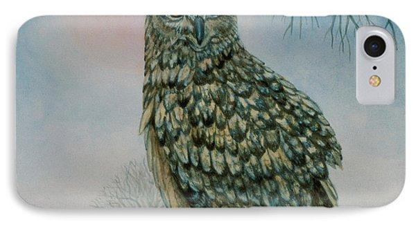 Winter Owl IPhone Case