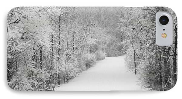 Winter Pathway IPhone Case
