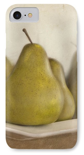 Winter Pears IPhone Case by Cindy Garber Iverson