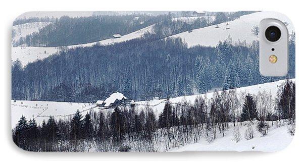 Winter Picture I Phone Case by Nedelcu Valeriu