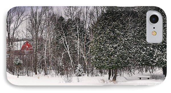 Winter Postcard Phone Case by Gwen Gibson
