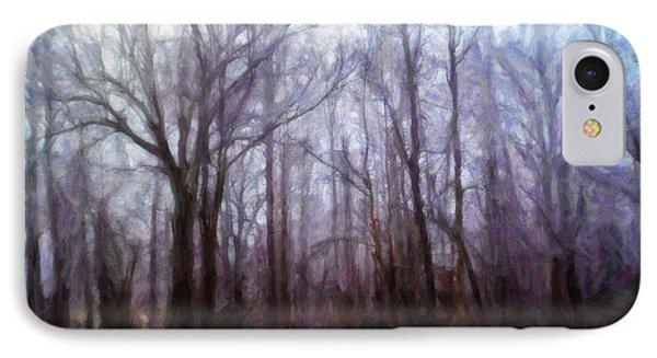 Winter Rain Phone Case by Melody McBride