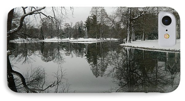 IPhone Case featuring the photograph Winter Reflections 2 by Kathy Barney