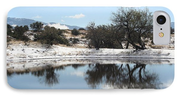 Winter Reflections IPhone Case by David S Reynolds