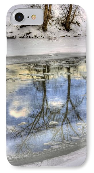 Winter Reflections Phone Case by John  Greaves