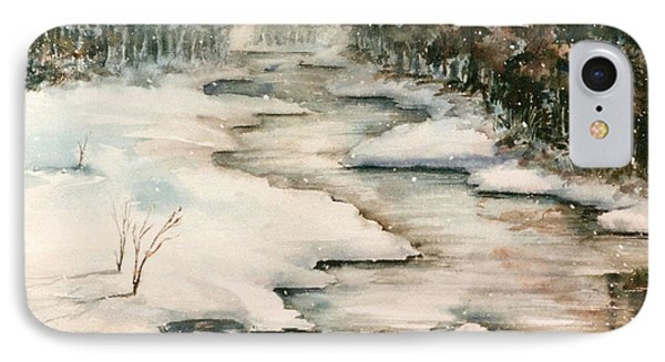 Winter Reflections Phone Case by Kristine Plum