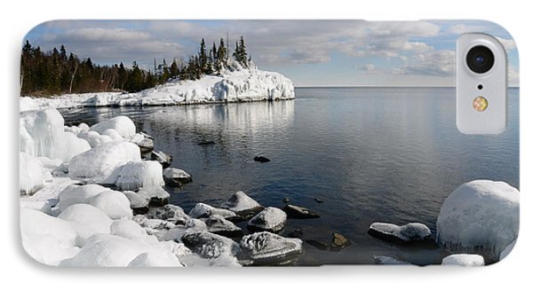 Winter Reflections Phone Case by Sandra Updyke