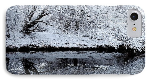 Winter Reflections Phone Case by Steven Milner