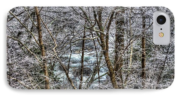 Winter River IPhone Case by Mark Bowmer