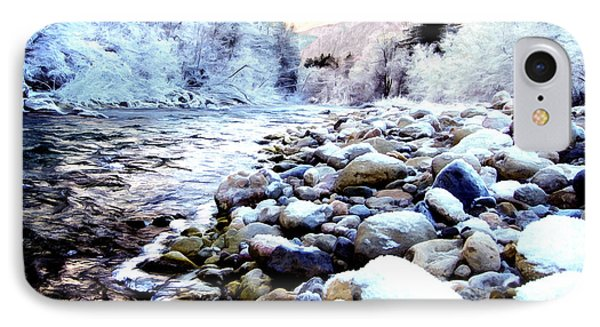 Winter River IPhone Case by Sabine Jacobs