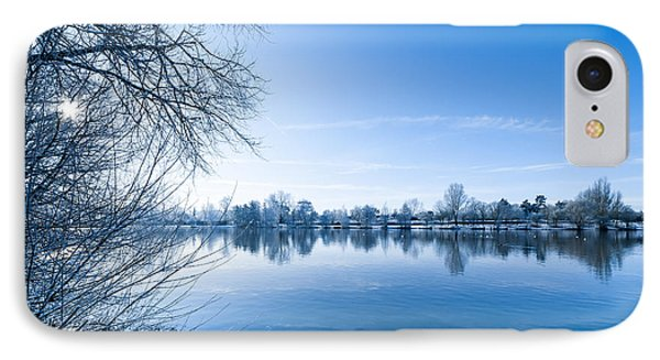 Winter River IPhone Case by Svetlana Sewell