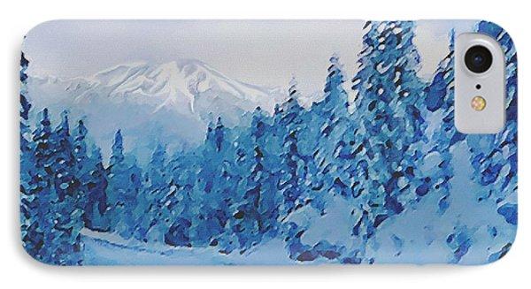 Winter Road IPhone Case by Sophia Schmierer