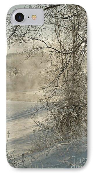 Winter Romance IIi IPhone Case by Jessie Parker