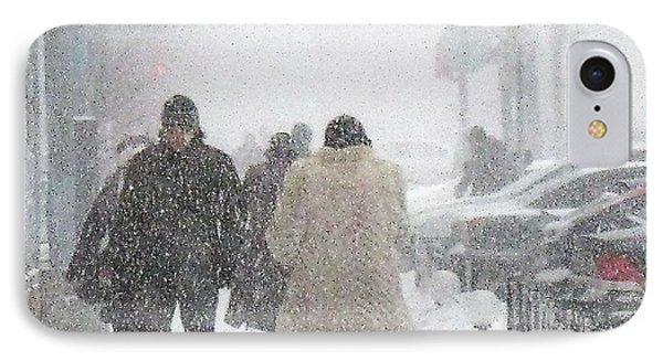 Winter Russia Peterburg IPhone Case by Yury Bashkin