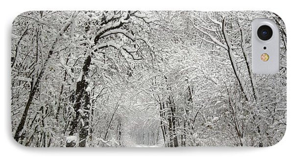 IPhone Case featuring the photograph Winter Scene 2 by Gabriella Weninger - David