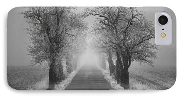 Winter Scene Phone Case by Jaromir Hron
