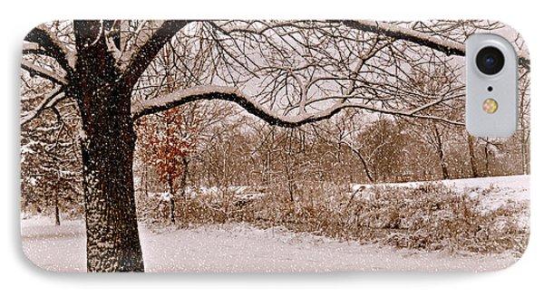 Winter Scene Phone Case by Marty Koch