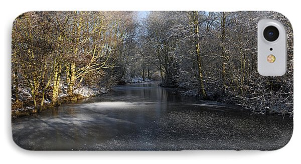 Winter Scene IPhone Case by Svetlana Sewell
