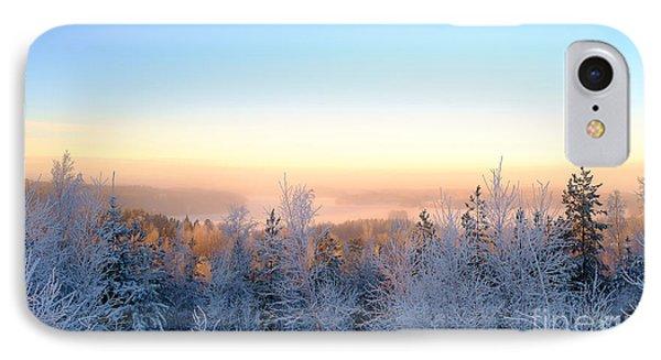 Winter Scenery Of The Lake Hiidenvesi IPhone Case