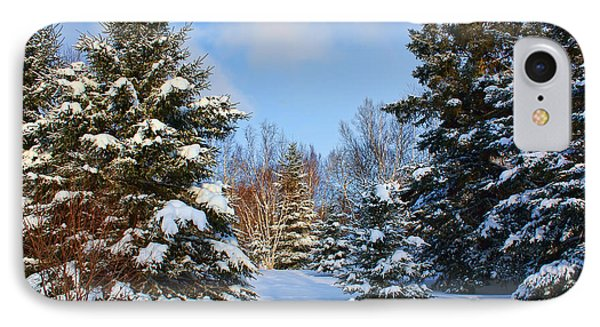 IPhone Case featuring the photograph Winter Scenery by Teresa Zieba