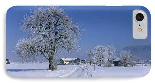 Winter Scenic, Austria IPhone Case by Panoramic Images