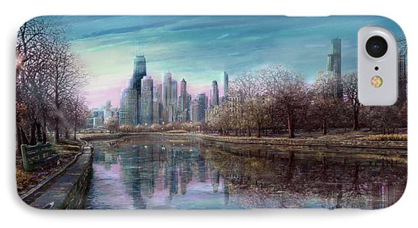 Winter Serenity Deep IPhone Case by Doug Kreuger
