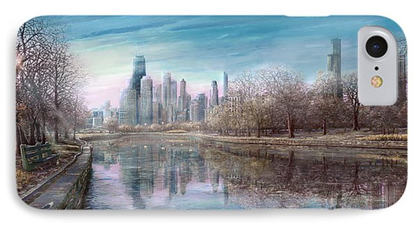 Winter Serenity Frost IPhone Case by Doug Kreuger