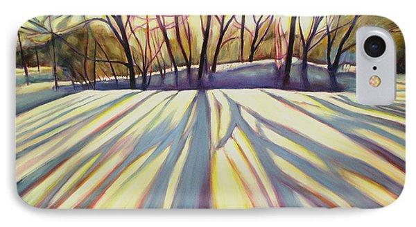 Winter Shadows Phone Case by Sheila Diemert