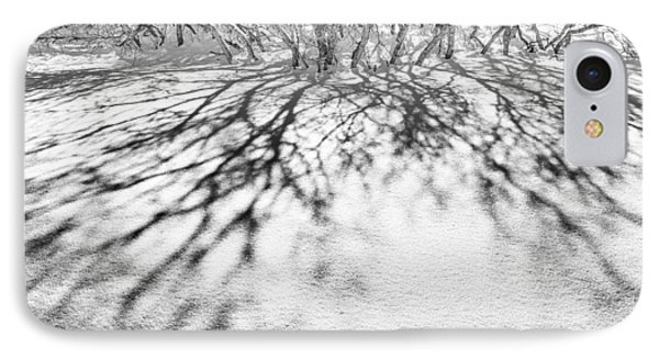 Winter Shadows IPhone Case by The Forests Edge Photography - Diane Sandoval