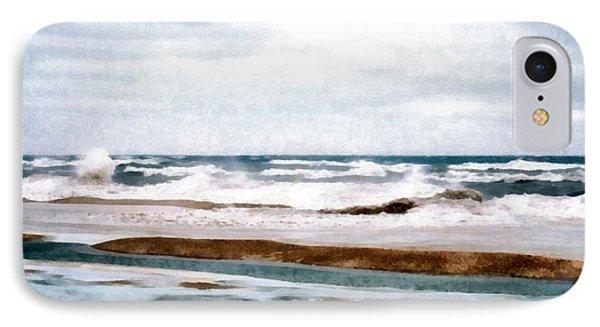 Winter Shore IPhone Case by Michelle Calkins