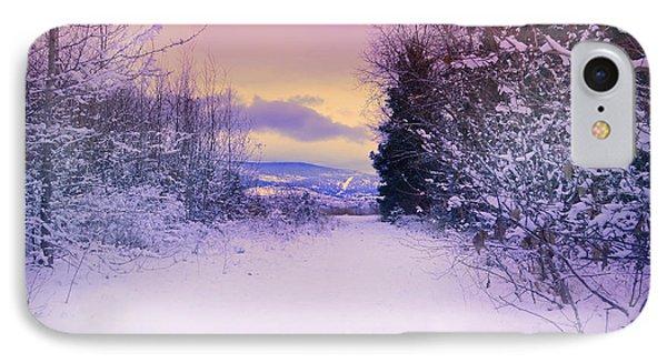 Winter Skies Phone Case by Tara Turner
