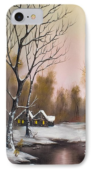 Winter Solace IPhone Case by C Steele