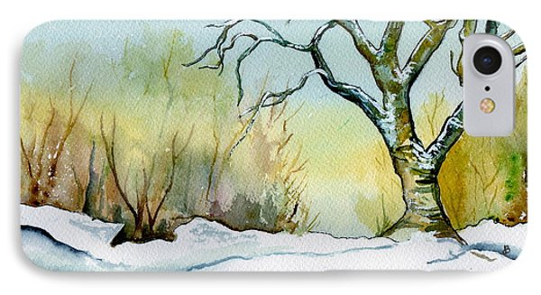 Winter Solitude Phone Case by Brenda Owen