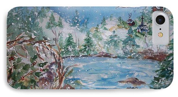 Winter Solstice Phone Case by Ellen Levinson