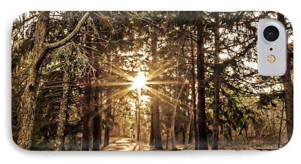 Winter Solstice Walk IPhone Case