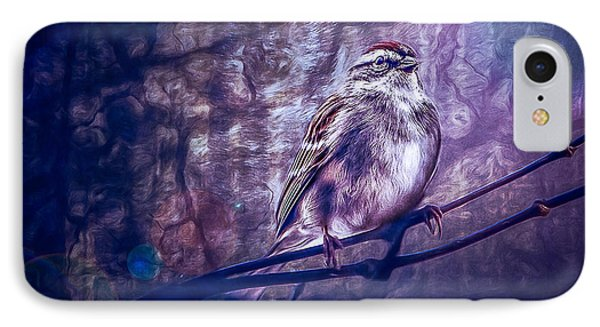 Winter Sparrow IPhone Case