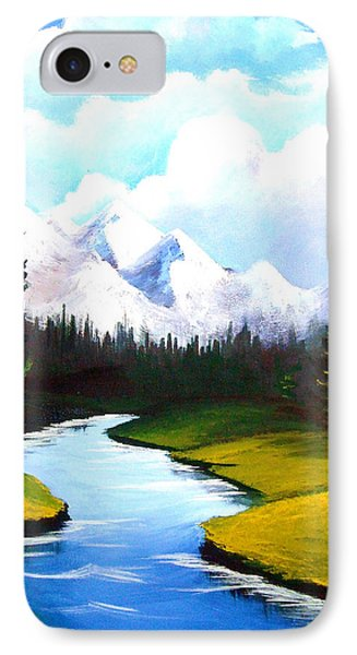 Winter Spring Phone Case by Richard Bantigue