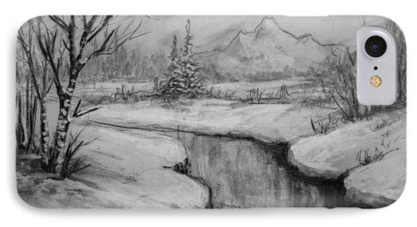 Winter Stillness Phone Case by C Steele