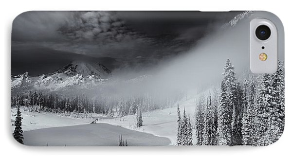 Winter Storm Clears Phone Case by Mike  Dawson