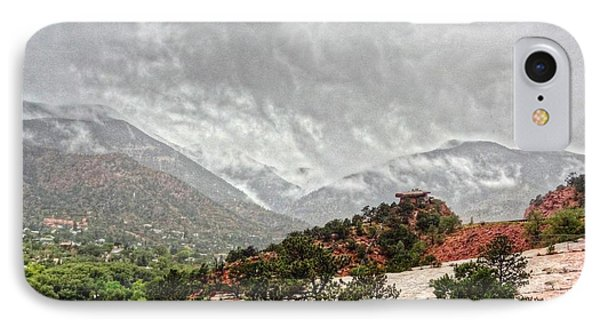 Winter Storm On A Summer Day IPhone Case by Lanita Williams