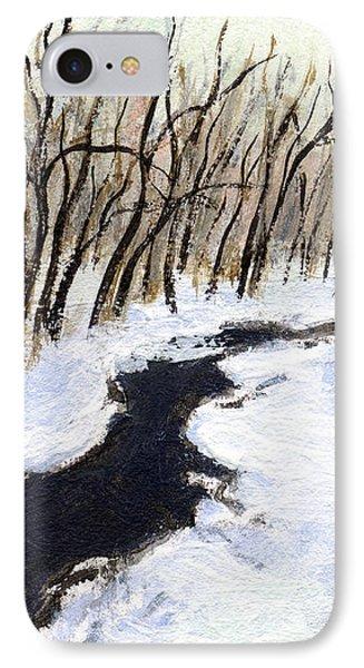 Winter Stream IPhone Case by J Reifsnyder