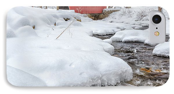 Winter Stream Square IPhone Case by Bill Wakeley