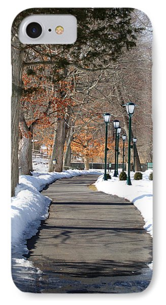 Winter Stroll IPhone Case by Margie Avellino