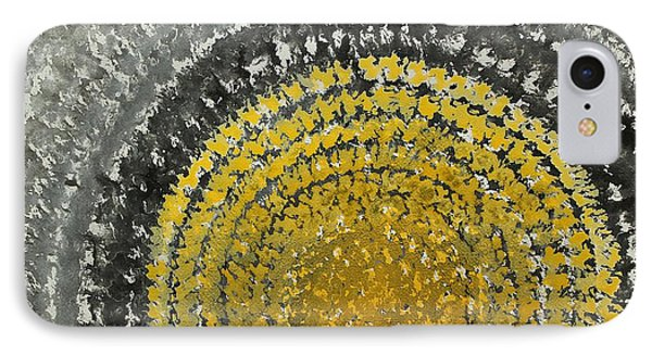 Winter Sun Original Painting IPhone Case by Sol Luckman
