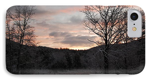 IPhone Case featuring the photograph Winter Sunrise by Mim White